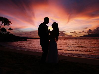Wedding Photos Gallery on Wedding Sunset Photography Pictures